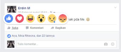 Fitur Baru Like Facebook ( Ekspresi )