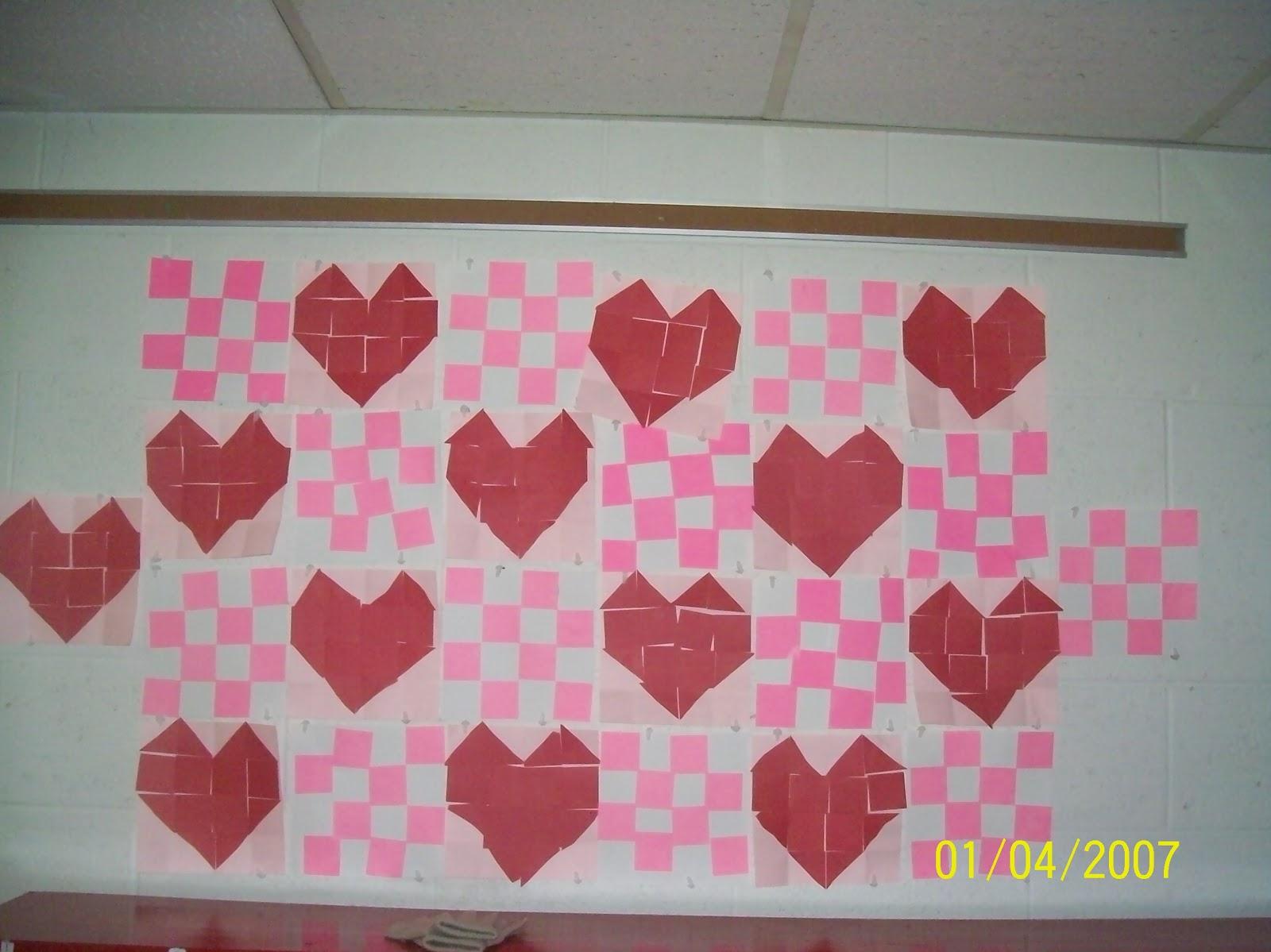 Mrs Straight S Kindergarten Korner February Art Work