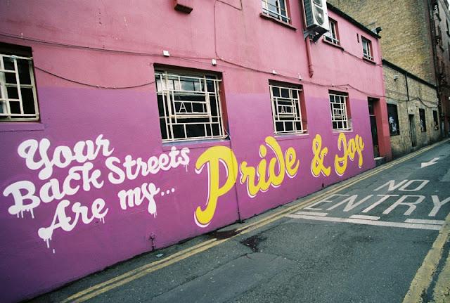 Artwork in Dublin by street artist Maser