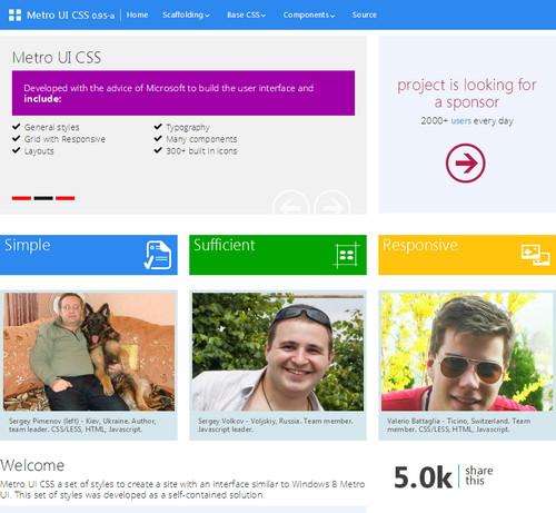 UI Kits for Web Design Free HTML5/CSS3 - Part2 - دروس4يو Dros4U