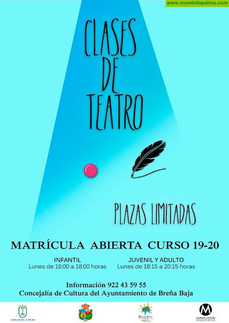 BREÑA BAJA: Inscripciones Clases de Teatro