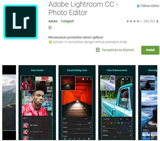 Aplikasi edit foto android yang lagi hits 2018