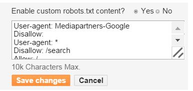 Increase your blog rank by Robots