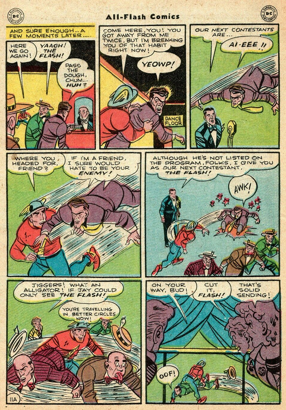 Read online All-Flash comic -  Issue #25 - 12