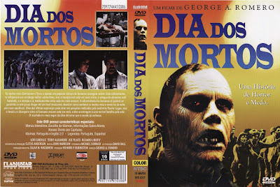 Filme Dia dos Mortos (Day of the Dead) 1985 DVD Capa