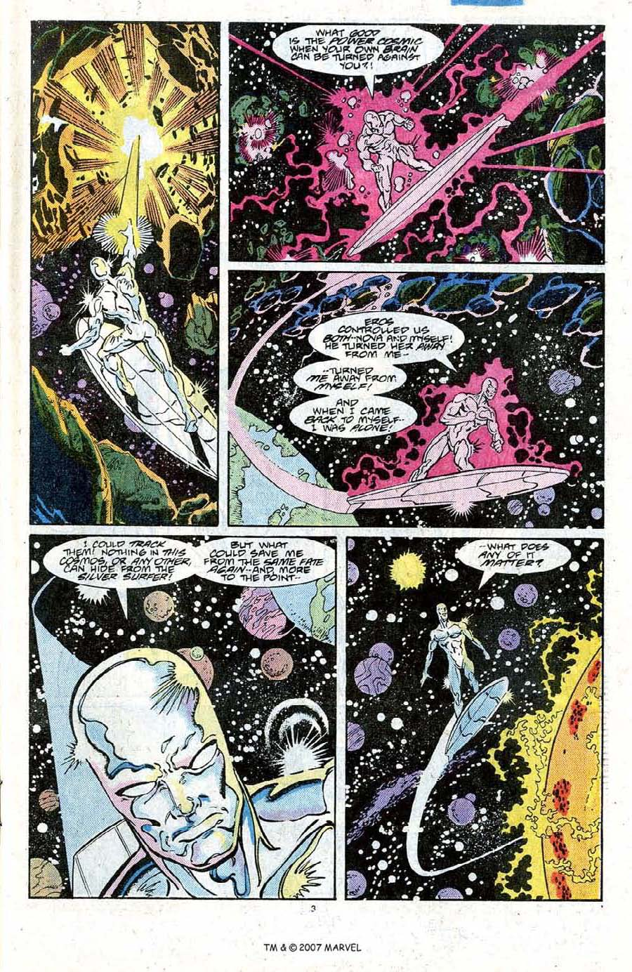 Read online Silver Surfer (1987) comic -  Issue #20 - 5