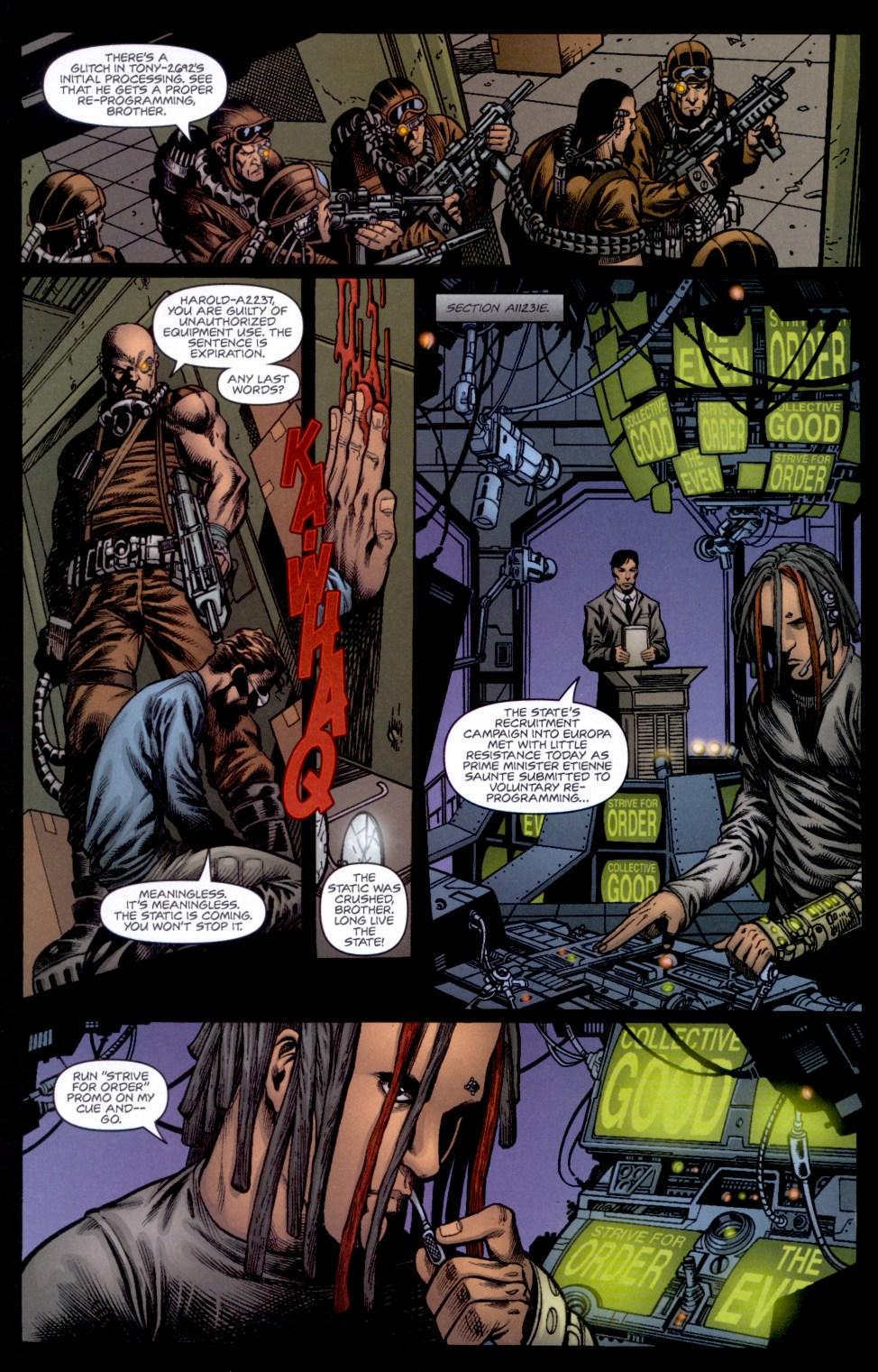 Read online Static-X: Machine comic -  Issue # Full - 7