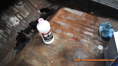 naval jelly on a rusty car 1971 ford torino safe rust removal how to remove rust