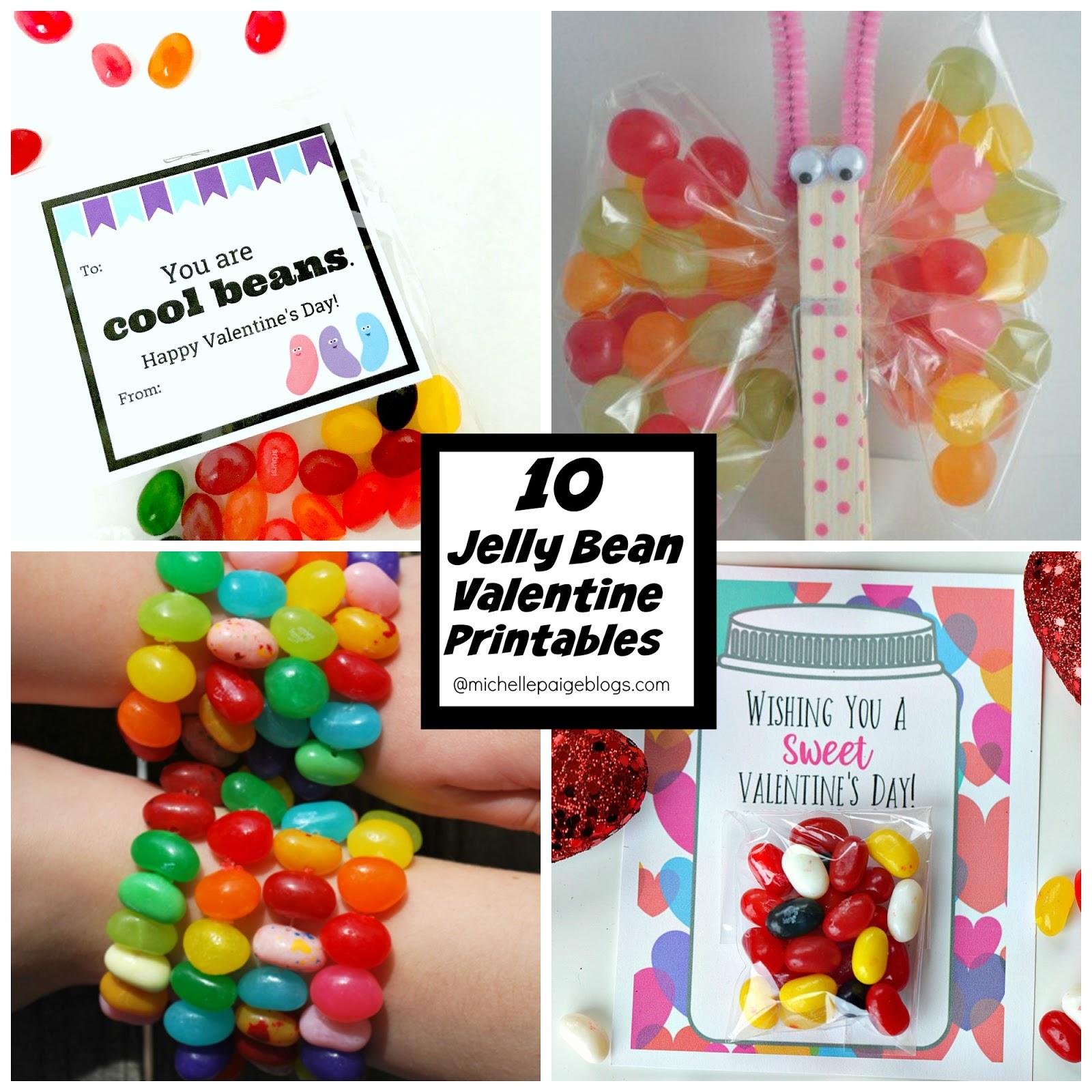 Michelle Paige Blogs 10 Jelly Bean Valentine Printables