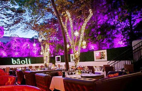 Restaurante romântico Baôli Vita em Miami