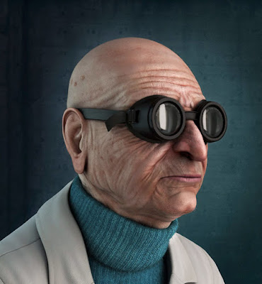 Professor Hubert J. Farnsworth de Futurama.