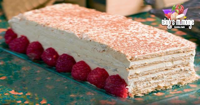 Tarta Moka con Galleta