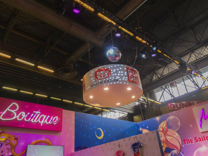 Sailor Moon booth