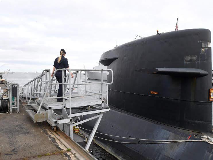El próximo año cuatro mujeres tripularán submarinos holandeses