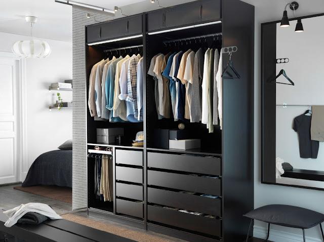 Tips Menyimpan Pakaian Bersama Ikea