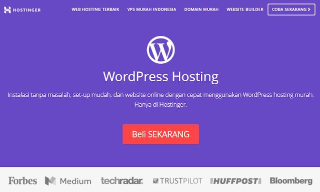 Hosting Wordpress dengan Performa Terbaik