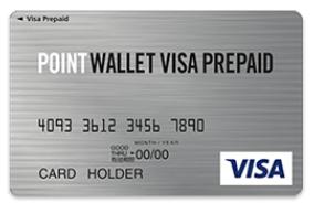 モッピー公式プリペイドカードPOINT WALLET VISA PREPAID