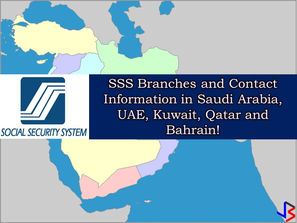 SSS Branches and Contact Info in Saudi Arabia, UAE, Kuwait, Qatar & Bahrain