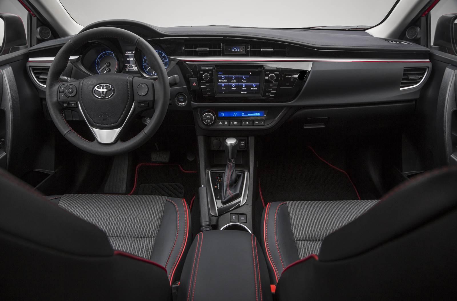 Toyota corolla 2016 special edition lan ado nos eua - 2013 toyota camry interior parts ...