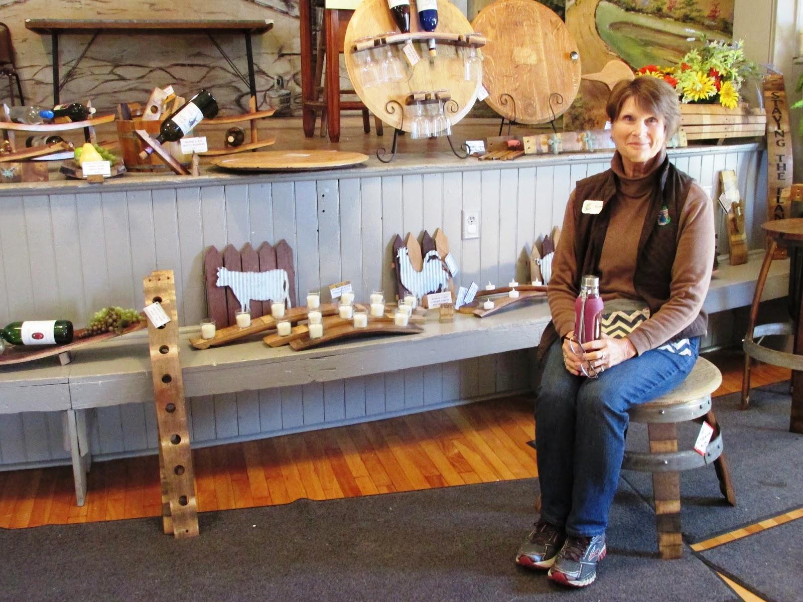 Jeannie Voeksgreen Planet Rain Barrels,Llc Staving The Planet White Oak Wine