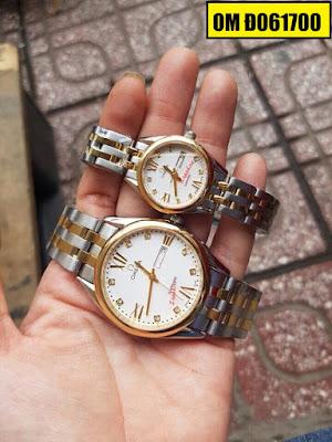 Đồng hồ đeo tay Omega Đ061700 sợi dây kết nối tình yêu của hai người