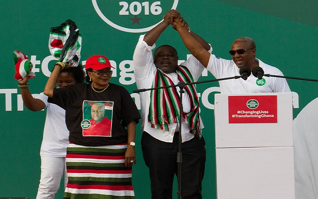 Nana Addo is using old campaign methods - Mahama