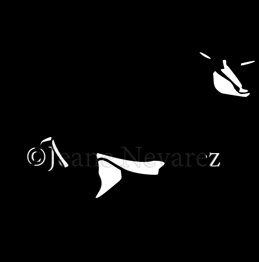 Art by Jeane Nevarez: sable antelope