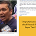 Angry Netizen Challenges BIR to check Records Regarding Renato Reyes' Tax Contributions