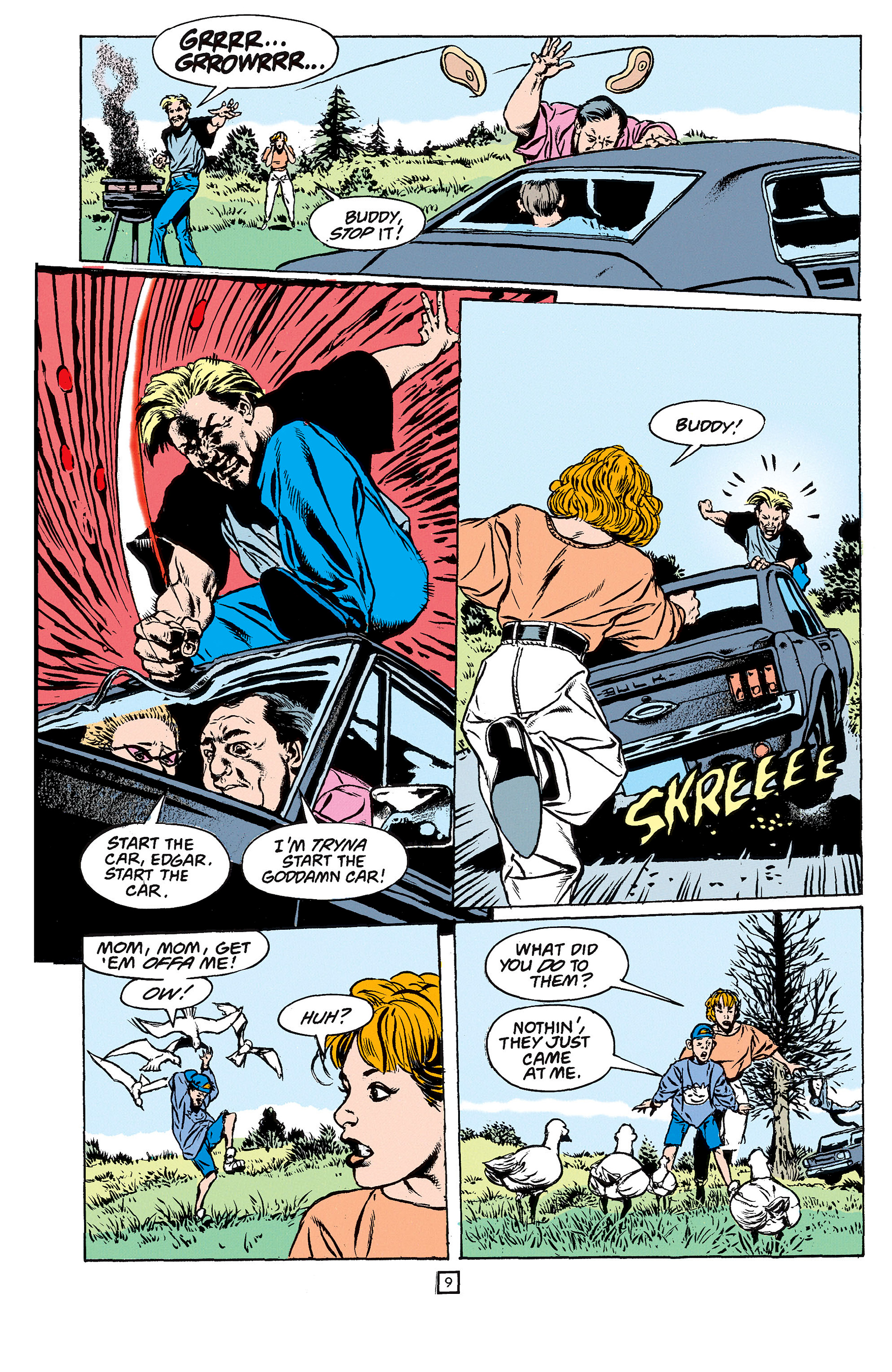 Read online Animal Man (1988) comic -  Issue #61 - 10