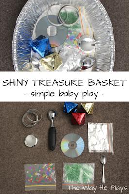 Shiny Treasure Basket Pinterest Image