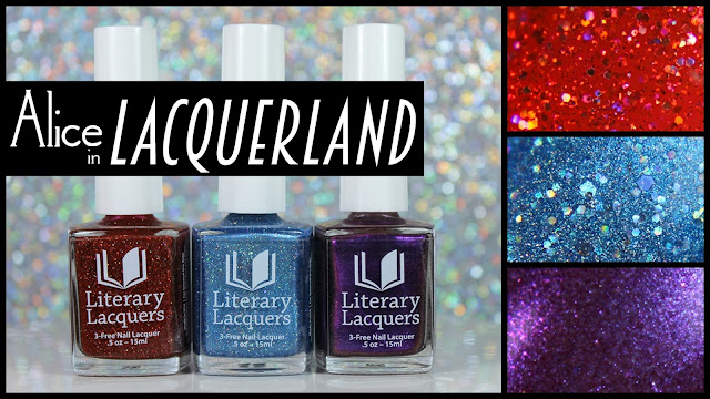Literary Lacquers Alice in Lacquerland Collection | A Sampling