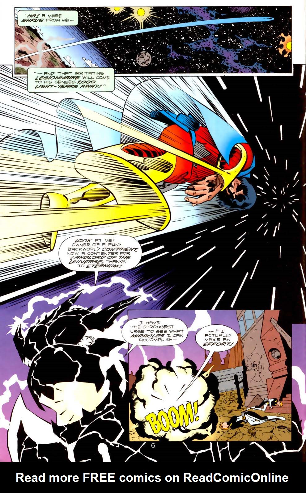 Legion of Super-Heroes (1989) 117 Page 6