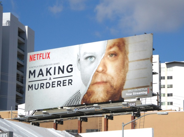 Making a Murderer Steven Avery billboard
