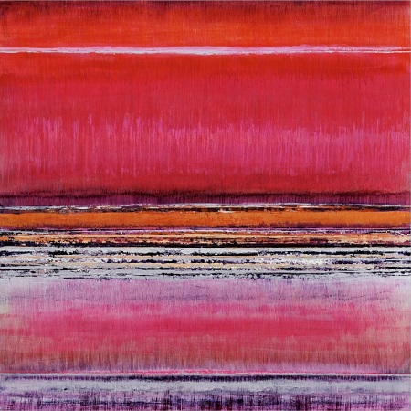"Bruno Kurz, ""Northern Light-Red"" 