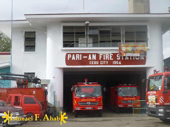 Pari-an Fire Station in Cebu City in 1954