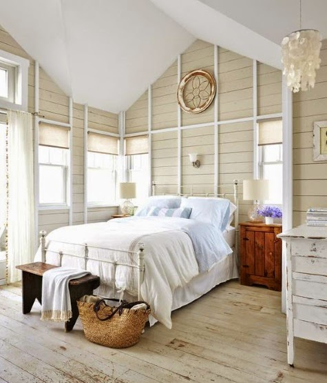 Bedroom in Sandy Gingras Home