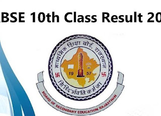RBSE 10th Class Result 2018