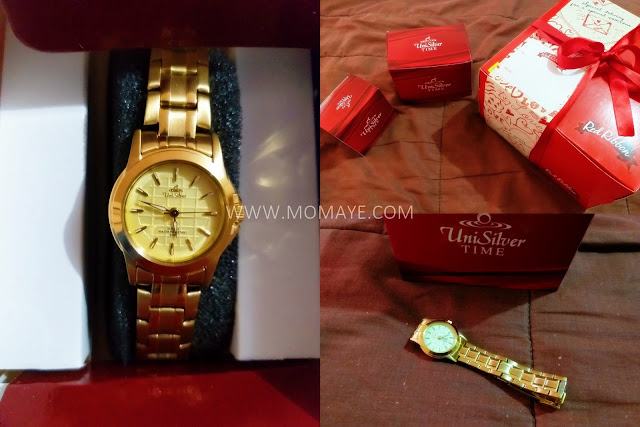 2019, Valentine's Day, Valentine gift, Red Ribbon cake, UniSilver watch
