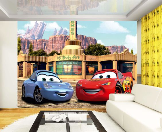 Disney Wall Mural Cars Pixar