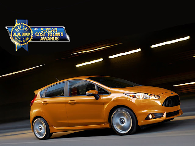 The Fun Ford Fiesta Wins Yet Another KBB Award