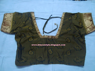 new latest blouse style