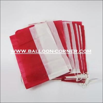 Bendera Plastik Merah Putih (Murah)
