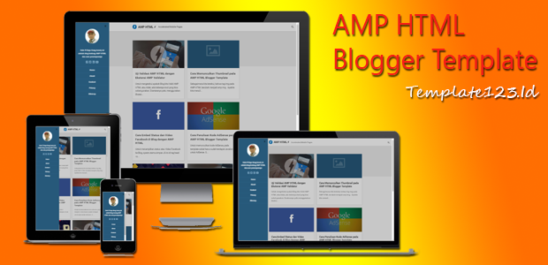 Download Gratis AMP HTML Blogger Template Kang Ismet