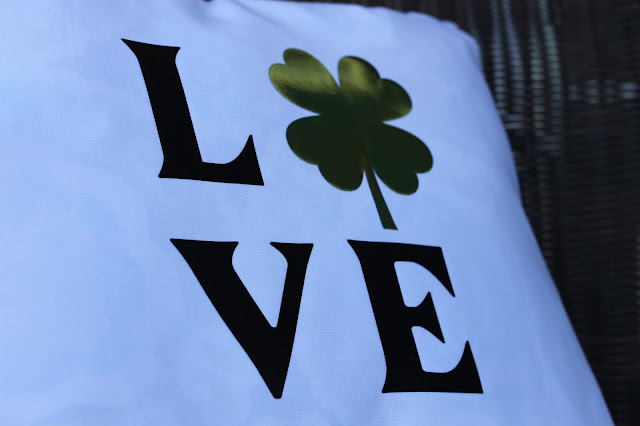 Love St. Patrick's Day PIllow