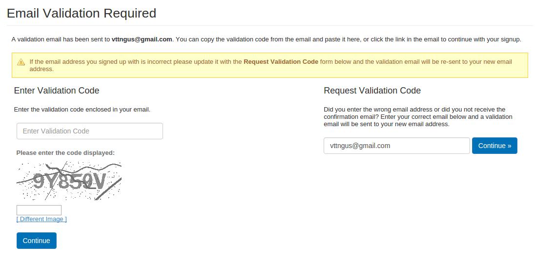 Bravenet Guestbook을 이용하여 Blogger 방명록 추가 방법 5. 인증 화면 출력