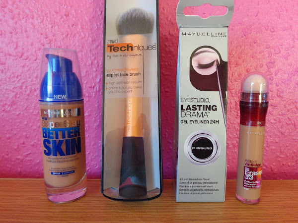 Boots Haul: Maybelline and Real Techniques