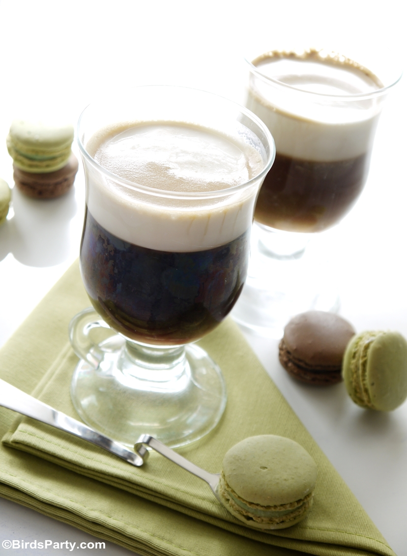 Traditional Irish Coffee Recipe - BirdsParty.com