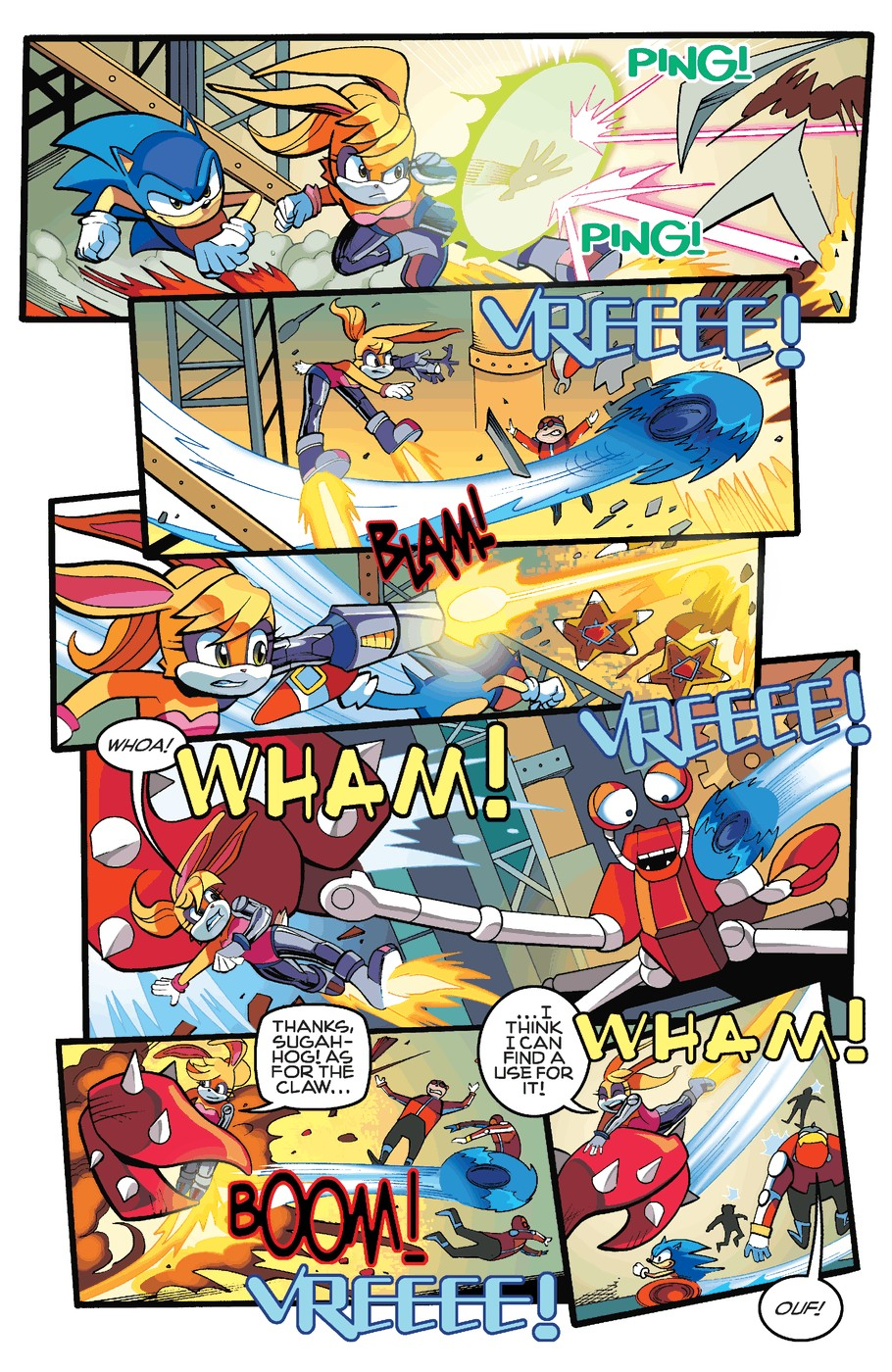 Read online Sonic The Hedgehog comic -  Issue #255 - 15