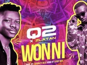 [MUSIC+VIDEO] Q2 ft Zlatan – WON NI