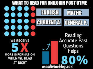 what to read for unilorin post utme